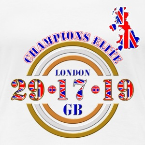 champions elite british athletics T-Shirts - Women's Premium T-Shirt