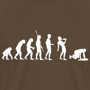 Evolution Saufen - Men's Premium T-Shirt