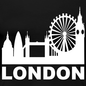 London Skyline T-Shirts - Women's Premium T-Shirt