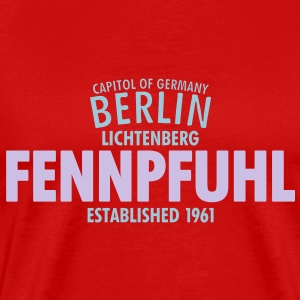 Capitol Of Germany Berlin - Fennpfuhl - Männer Premium T-Shirt