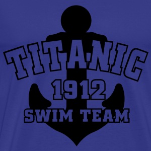 Titanic 1912 SwimTeam T-shirts - Herre premium T-shirt
