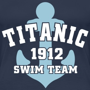 Titanic 1912 SwimTeam T-shirts - Vrouwen Premium T-shirt