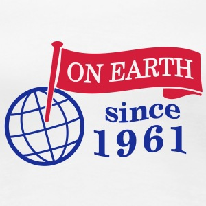 flag on earth since 1961  2c (uk) T-Shirts - Women's Premium T-Shirt