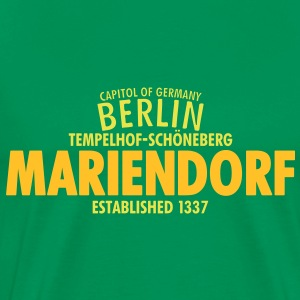 Capitol Of Germany Berlin - Mariendorf - Männer Premium T-Shirt