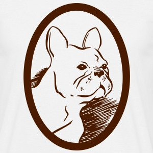 Frenchie T-shirts - T-shirt herr