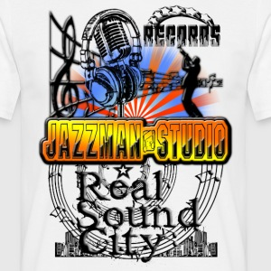 records jazzman studio real sound city Tee shirts - T-shirt Homme
