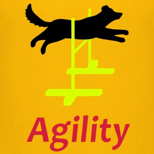 Agility 1 Kids' Shirts - Teenage Premium T-Shirt
