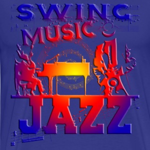 swing music jazz T-Shirts - Men's Premium T-Shirt