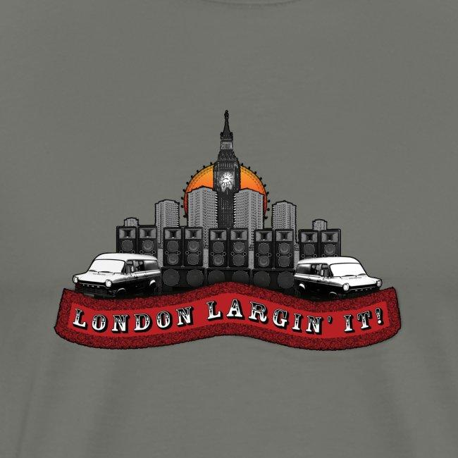 London Largin' It red