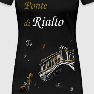 Rialto T-shirt Grand Canal - Venice Drawing - Women's Premium T-Shirt