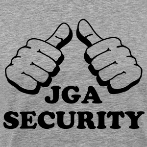 JGA Security - Männer Premium T-Shirt