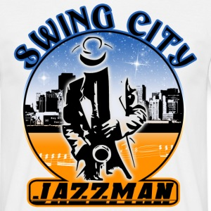 swing city jazzman Tee shirts - T-shirt Homme