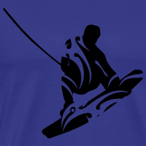 Waterski - Men's Premium T-Shirt