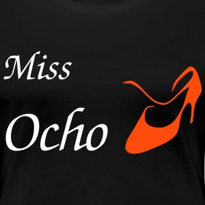 Woman T-shirt Design - Tango Shoe - Women's Premium T-Shirt