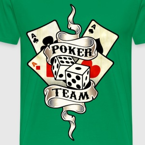 poker team design 8 Tee shirts - T-shirt Premium Homme
