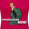 Prinsessan min! (DAM) - Premium-T-shirt dam