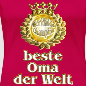 Champion Oma - Frauen Premium T-Shirt