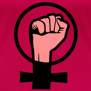 Protest, Girlpower T-Shirts - Vrouwen Premium T-shirt