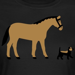 dogs and horses T-Shirts - Women's T-Shirt