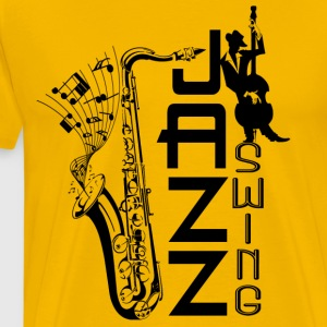 jazz swing T-Shirts - Men's Premium T-Shirt