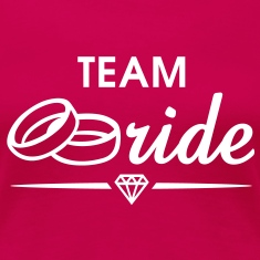 TEAM Bride Diamond T-Shirt WP