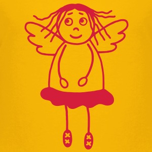 Guardian angel girl Shirts - Teenage Premium T-Shirt