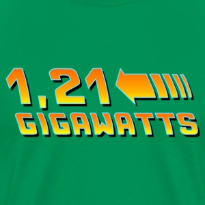 Back to the Future 1.21 Giggawatts - Premium T-skjorte for menn