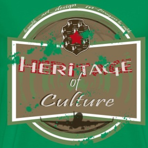 heritage of culture- homme - T-shirt Premium Homme