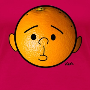 Orange head  - Women's Premium T-Shirt