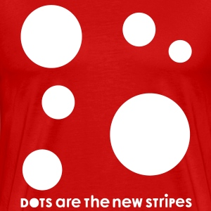 Dots Are The New Stripes T-Shirts - Männer Premium T-Shirt