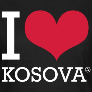I LOVE KOSOVA - Frauen T-Shirt