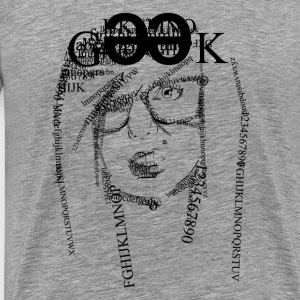 Geek girls Cipher - Men's Premium T-Shirt