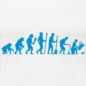 Evolution needs a break! T-Shirts - Women's Premium T-Shirt