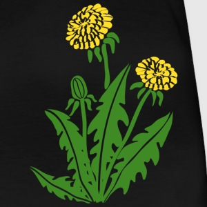 dandelion hawkbit blowball clock flower T-Shirts - Women's Premium T-Shirt