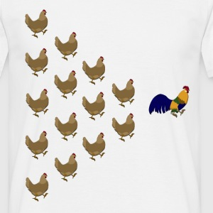 Chicken T-Shirts - Men's T-Shirt