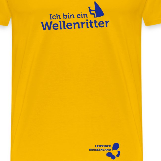 Männer-T-Shirt Wellenritter