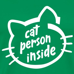 Cat person inside - Men's Premium T-Shirt