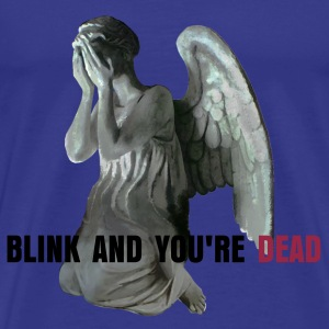 Doctor Who - Don't blink - Herre premium T-shirt