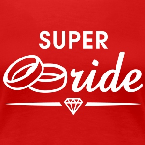 SUPER Bride Diamond T-Shirt WR - Women's Premium T-Shirt