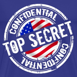 top secret 2 Camisetas - Camiseta premium hombre
