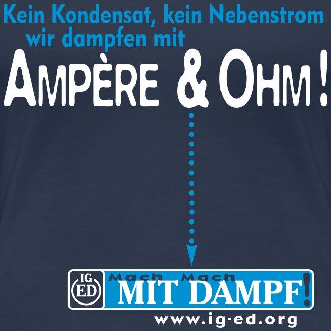 """IG-ED Mädels-Shirt """"AMPÈRE"""""""