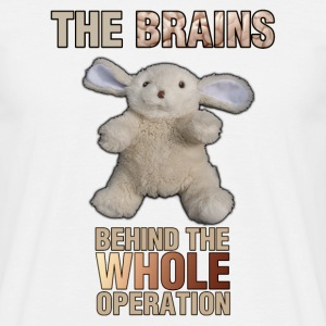 The Brains behind the operation - Men's T-Shirt