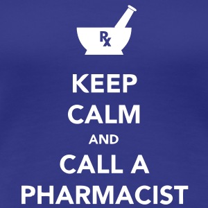 Keep Calm - Pharma T-shirts - Premium-T-shirt dam