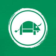 Design ~ Banoop Circular Logo - Mens T-Shirt - Khaki