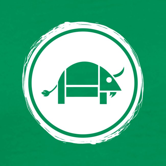 Banoop Circular Logo - Mens T-Shirt - Khaki