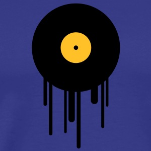 music_graffiti_stamp T-shirts - Mannen Premium T-shirt