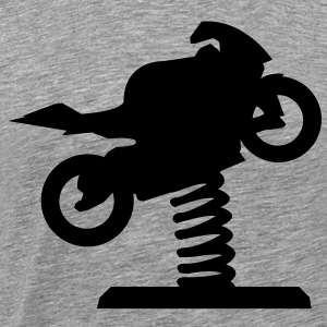 Playground motorcycle to wobble  T-Shirts - Men's Premium T-Shirt