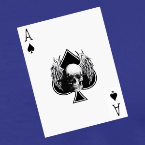 Card game Ace of spade - Maglietta Premium da uomo