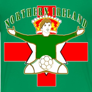 Northern Ireland football celebration Kids' Shirts - Teenage Premium T-Shirt