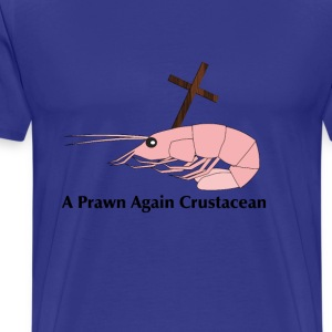 prawn_again_crustacean T-Shirts - Men's Premium T-Shirt
